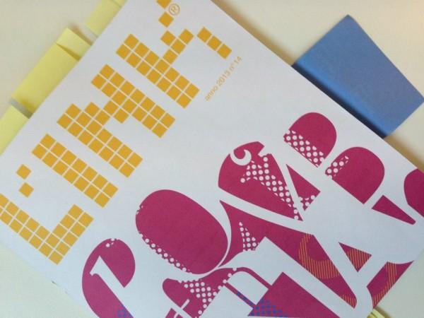 la rivista di comunicazione L'INK® 2013 made in diskos