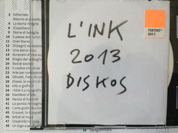 la rivista di comunicazione link 2013 made in diskos