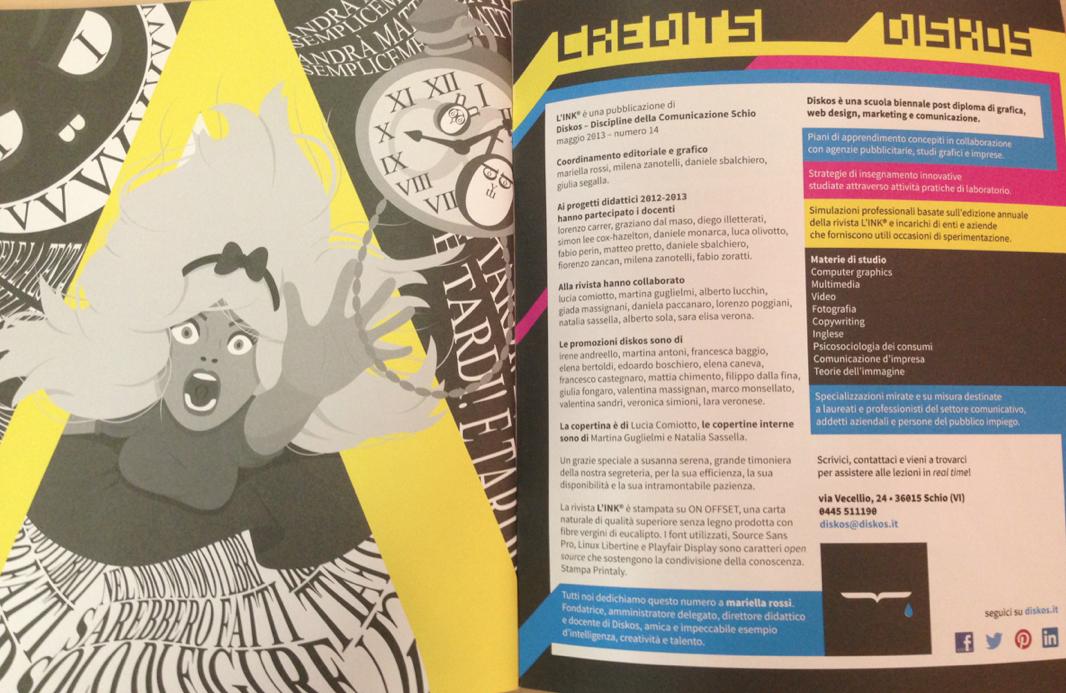 L'INK® 2013 la rivista di comunicazione made in diskos