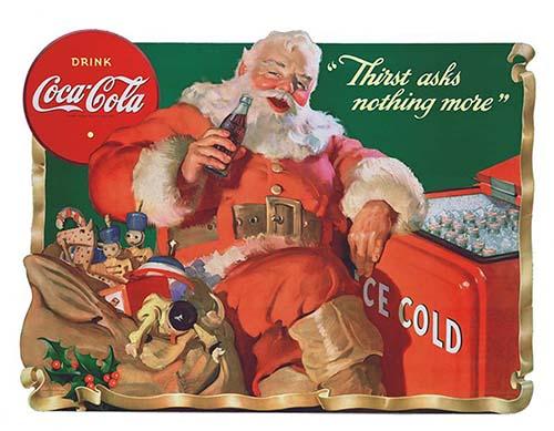 Babbo Natale Coca Cola 1931.Sempre Coca Cola